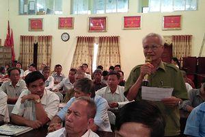 Huyện Ứng Hòa: Cử tri kiến nghị xây dựng trạm cấp nước sạch