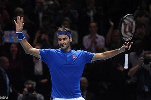 Federer vào bán kết Nitto ATP Finals 2018 với ngôi nhất bảng