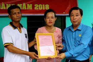 LĐLĐ Kiên Giang: Bàn giao nhà mái ấm công đoàn cho đoàn viên ngành GDĐT