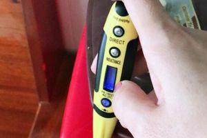 Bạc Liêu: Lại xuất hiện trường hợp vật dụng trong nhà bỗng có điện