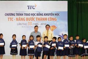 Trao học bổng 'TTC – nâng bước thành công' lần thứ 33