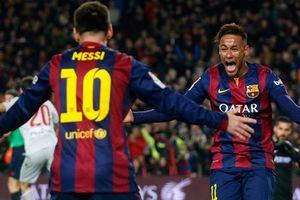 Hậu vệ Atletico Madrid dùng Messi để mỉa mai Neymar