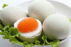 Cách làm trứng vịt muối ngon thơm, dễ dàng
