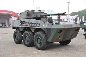 Indonesia giới thiệu xe chiến đấu bộ binh mạnh ngang BMP-3
