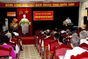 Phú Thọ: Gặp mặt truyền thống ngày Nhà giáo Việt Nam 20/11
