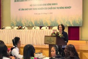Australia cam kết thúc đẩy mạnh mẽ bình đẳng giới tại Việt Nam