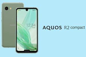 Sharp ra mắt smartphone Aquos R2 Compact màn hình có đến 2 'tai thỏ'