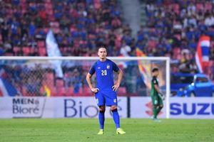 Tuyển Thái Lan chỉ còn 22 cầu thủ tại AFF Cup 2018