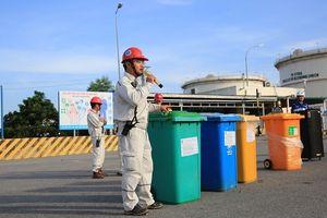 Phổ biến kiến thức phân loại rác và an toàn giao thông cho Nhà thầu