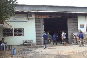Cháy xưởng cơ khí ở Sài Gòn, 2 công nhân bỏng nặng
