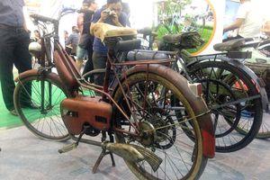 Xe máy cổ 250 triệu duy nhất trên thế giời từ Đức về Việt Nam