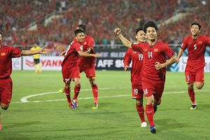 Công Phượng ghi bàn thắng mở tỉ số trận Việt Nam - Malaysia