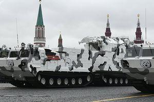 Quân đội Nga tiếp nhận tổ hợp tên lửa phòng không Tor-M2DT đầu tiên