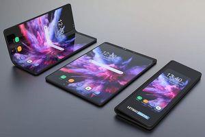Smartphone màn hình gập của Samsung lộ ảnh render rõ ràng
