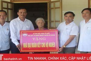 Những ngôi nhà ấm tình đại đoàn kết ở huyện miền núi Vũ Quang
