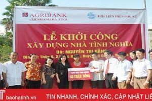Agribank xây nhà tình nghĩa cho hộ nghèo Vũ Quang