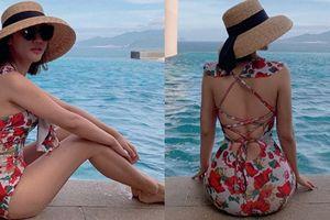 Vĩnh biệt mũm mĩm, Văn Mai Hương phô diễn hình thể nuột nà với bikini khiến vạn cô gái ghen tỵ