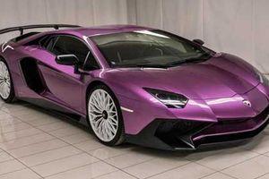 Lamborghini Aventador phiên bản màu tím cực hiếm