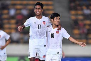 Clip: Thắng ngược ĐT Lào, Myanmar dẫn đầu bảng A