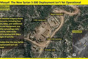 Ảnh vệ tinh Israel: Tên lửa S-300 tại Syria vẫn 'nằm im'