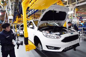 Doanh số của Ford tại Trung Quốc giảm hơn 40%