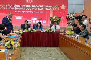 700 tác phẩm dự giải báo chí toàn quốc vì sự nghiệp giáo dục