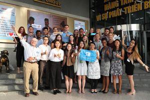 Đoàn sinh viên quốc tế tham quan và trải nghiệm tại Tân Hiệp Phát