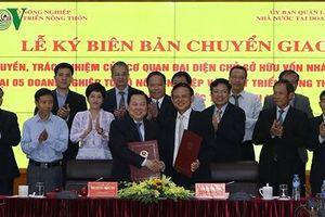 Bộ NN&PTNT chuyển giao 5 doanh nghiệp về 'siêu' Ủy ban