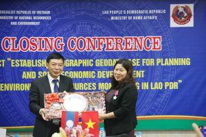 Việt Nam - Lào: Tăng cường hợp tác trong lĩnh vực đo đạc và bản đồ