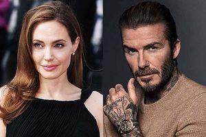 Angelina Jolie khiến dân tình nháo nhác trước thông tin tán tỉnh David Beckham