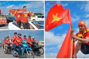 Trước trận Việt Nam - Malaysia: Cờ đỏ sao vàng phủ kín thủ đô - Dân Hà thành tự tin tiếp lửa cho đội tuyển