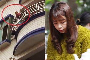 MC Diệp Chi hoảng sợ kể chuyện bé trai 5 tuổi vừa rơi từ tầng 7 chung cư nơi cô đang sống