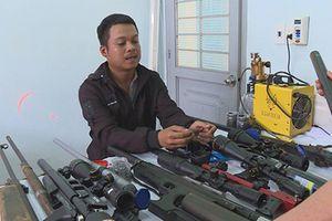 Đắk Lắk: Chế tạo súng trái phép bị phát hiện