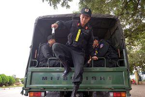Lực lượng vũ trang Hà Nội sẵn sàng bảo đảm an ninh, an toàn trận Việt Nam - Malaysia