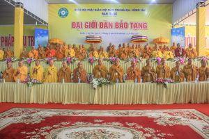 Bà Rịa – Vũng Tàu: Khai mạc Đại Giới đàn Bảo Tạng tại Vạn Phật Quang Đại Tòng Lâm