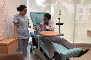 Bệnh viện FV có thể tiếp nhận 100 bệnh nhân ung thư mỗi ngày