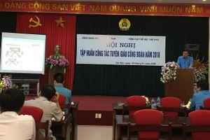 Hội nghị tập huấn công tác tuyên giáo Công đoàn năm 2018