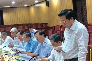 Hội nghị lấy ý kiến góp ý vào dự thảo 2 đề án của Ban Tổ chức Trung ương