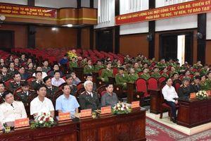 Ninh Bình có Phó Giám đốc Công an mới