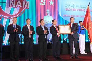 Báo Tiền phong kỷ niệm 65 năm ngày xuất bản số đầu tiên và đón nhận huân chương Lao động hạng Ba