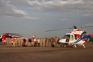 Soi kĩ trực thăng Nga Mi-171A2 và Ansat xuất hiện ở Hà Nội