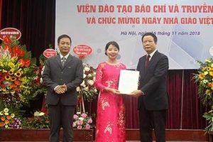 Ra mắt Viện đào tạo Báo chí Truyền thông - Đại học Quốc gia Hà Nội