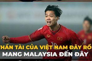 Biếm họa 24h: Công Phượng là 'thần tài' của ĐT Việt Nam trước Malaysia