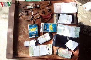 Tóm gọn 7 đối tượng đánh bạc tại Vĩnh Long