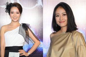 Không hẹn mà gặp, Á hậu Thụy Vân và MC Phí Linh cùng diện trang phục đơn giản nhưng vẫn hút ánh nhìn