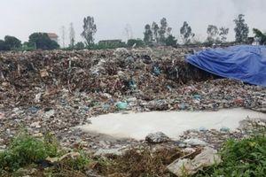 Nam Định: Người dân khổ sở vì bãi rác gây ô nhiễm môi trường
