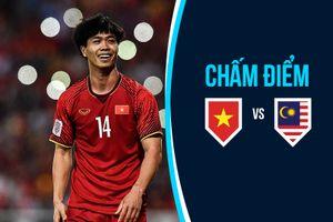 Chấm điểm Việt Nam vs Malaysia: Công Phượng nổi bật, Anh Đức đẳng cấp