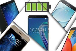 Loạt smartphone tầm trung pin khỏe đáng chú ý