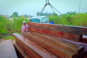 Phú Yên: Truy bắt xe chở gỗ trái phép bỏ chạy lúc rạng sáng
