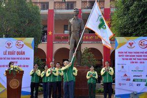 TP.HCM xuất quân dự Đại hội Thể thao toàn quốc lần VIII